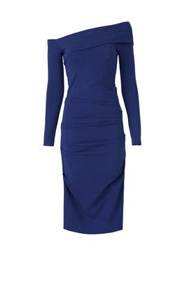 Royal Blue Dress by Nicole Miller