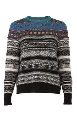 Multicolor Stripe Sweater by (nude)