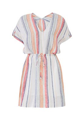 Multi Striped Wren Dress by Rails