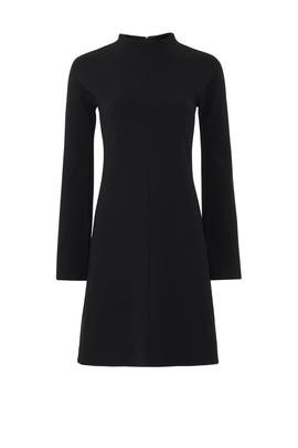Black Dolman Dress by Theory