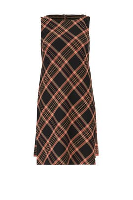 Plaid Brynne Two Dress by Trina Turk