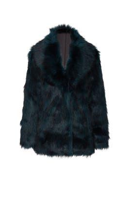 Faux Fur Premium Rose Jacket by Unreal Fur