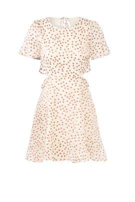 Cream Elsie Dress by ASTR
