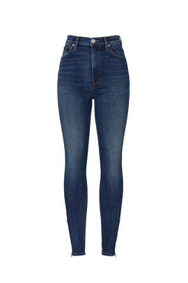 Centerfold High Rise Skinny Jeans by Hudson