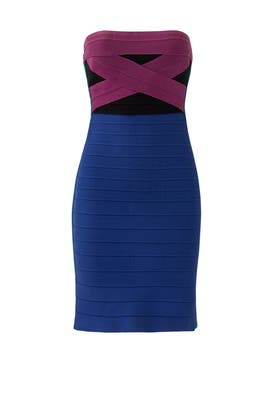 7e591938c6 Whiplash of Color Dress by Hervé Léger for $50 | Rent the Runway