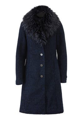 Flat Boucle Coat by NVLT