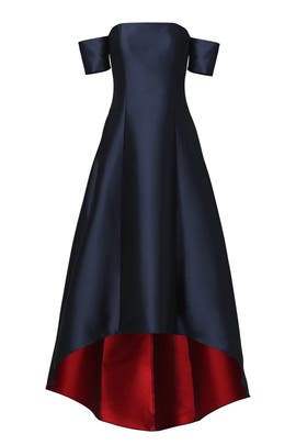 Navy Vanessa Gown by Sachin & Babi