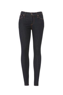 Admiral Blue Farrah Jeans by AG