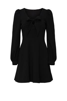 Black Ellen Mini Dress by Black Halo
