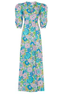 Printed Kate Maxi by Dodo Bar Or
