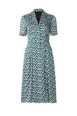Printed Day Dress by Jason Wu Collection