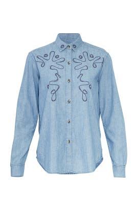 Chambray Vigo Shirt by M.i.h. Jeans