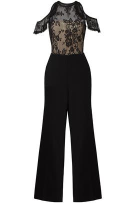 Black Lace Jumpsuit by Slate & Willow