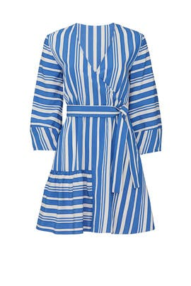 Striped Parasol Dress by Chinti & Parker