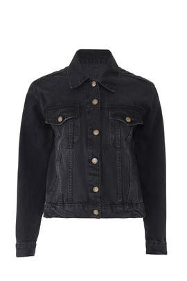 Wild And Free Denim Jacket by Denim & Bone