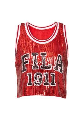 Kiki Glam Crop Jersey by FILA