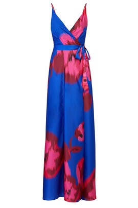 Floral Leah Wrap Maxi by Hutch