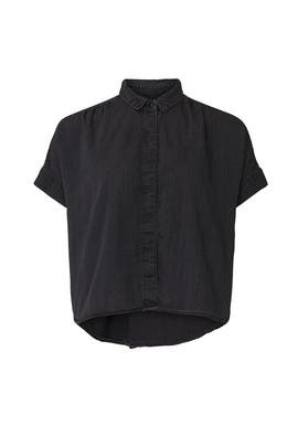 Lunar Wash Black Hill Top by Madewell