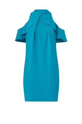 Blue Amado Dress by Trina Turk