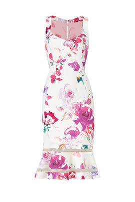 Poppy Floral Dress by Emanuel Ungaro