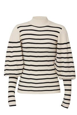 Joanne Puff Sleeve Sweater by Khaite
