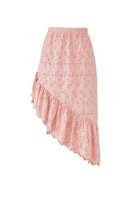 Pink Alana Skirt by LoveShackFancy