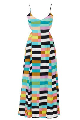 6e8cb7557b1 Mara Hoffman. Read Reviews. Rainbow Flag Stripe Maxi Dress