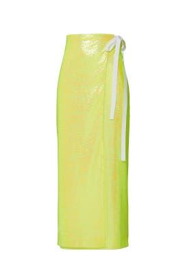 Sequin Navetta Skirt by MM6 Maison Margiela