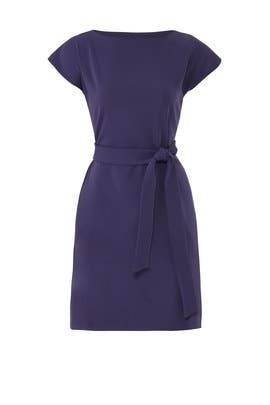 Navy Riverside Dress by Of Mercer