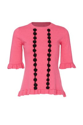Peony Pom Pom Sweater by Prabal Gurung Collective