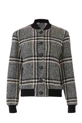 Plaid Cate Jacket by Rachel Zoe