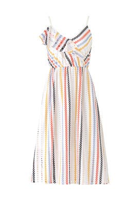 Striped Jazmin Dress by Shoshanna