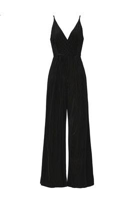 Velvet Burnout Jumpsuit by Slate & Willow