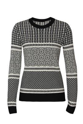 Graphic Fairisle Sweater by Jason Wu