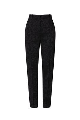 Leopard Patalon Pants by The Kooples