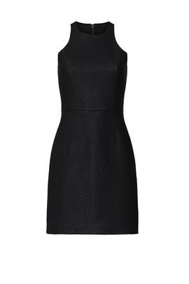 Quilted Faux Leather Dress by Louna