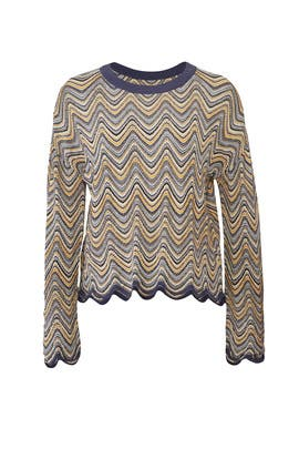Zig Zag Arlo Sweater by M.i.h. Jeans