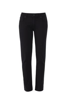 Black Brigitte Jeans by PAIGE