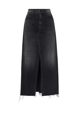 Clyde Denim Skirt by rag & bone JEAN