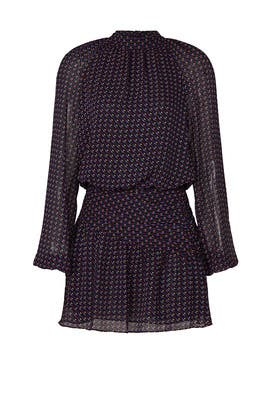 Mulberry Printed Dress by Ramy Brook