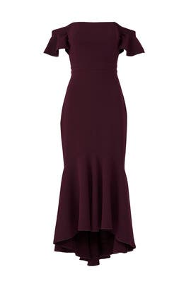 Cabernet Devon Dress by Rachel Zoe