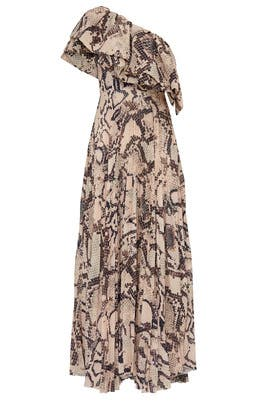 Snake Print Rosa Maxi by Solace London