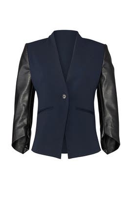 Midnight Envelope Blazer by Slate & Willow