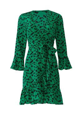 Nomi Wrap Dress by Tanya Taylor