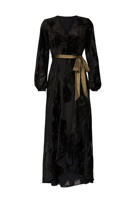 Velvet Celine Gown by Hutch