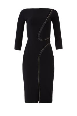 Black Zipper Sheath by La Petite Robe di Chiara Boni