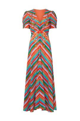 Striped Lea Dress by SALONI