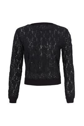 Black Lace Top by English Factory