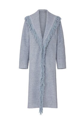 Linda Fringe Coat by Line + Dot