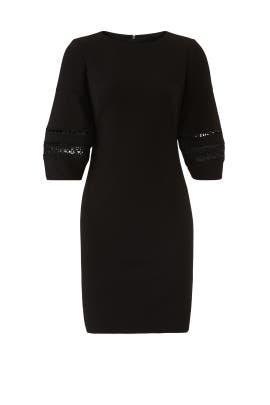 Black Courtenia Dress by Lauren Ralph Lauren